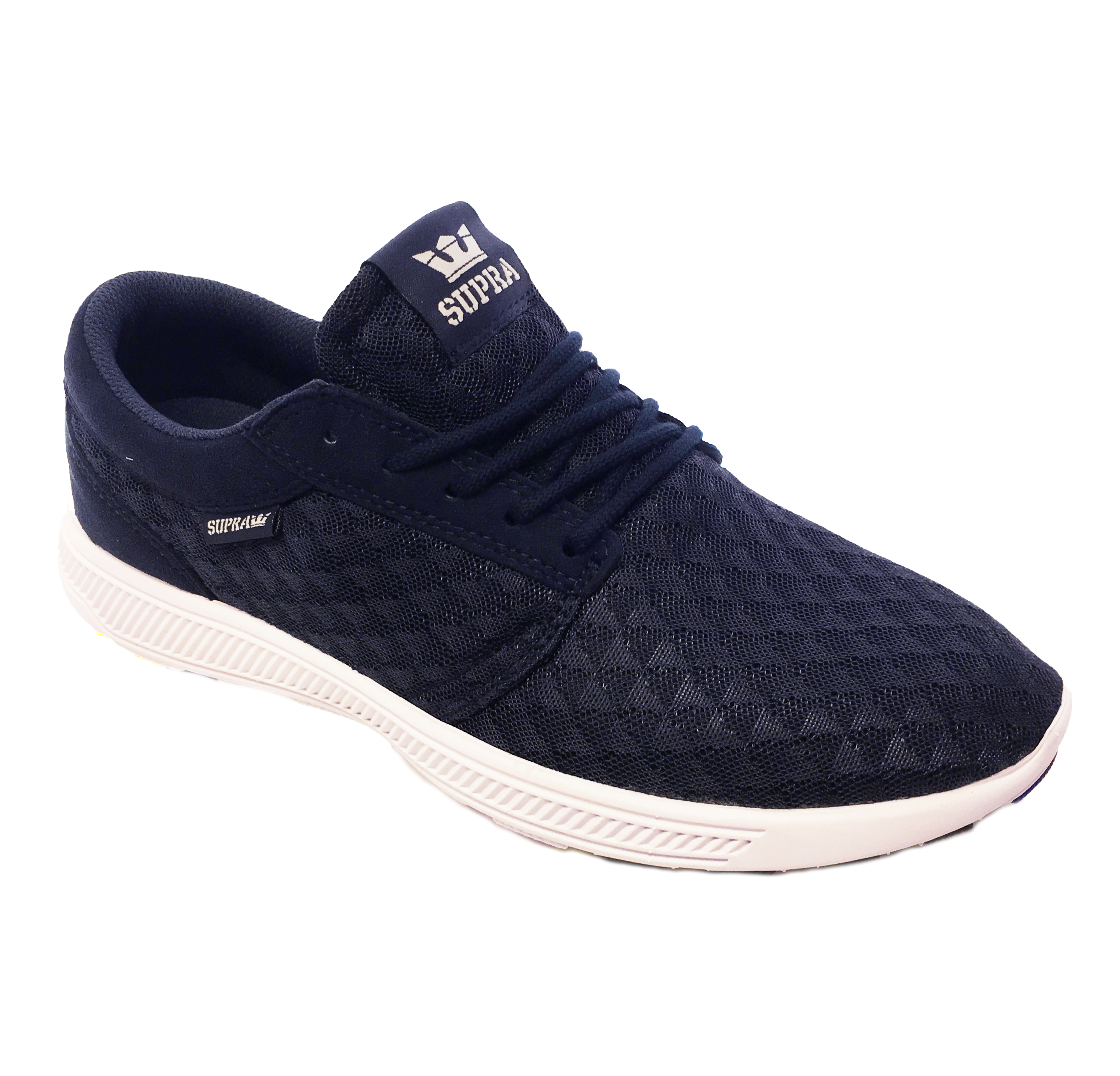 dd8859ae8ee5 SUPRA Hammer Run Lightweight Mesh Trainer Sporty Gym Sneaker Shoe ...