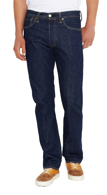 53b1fd12e8 Levi s New Men s 501 Denim Jeans Indigo Rinsewash Blue Red Tab levi ...