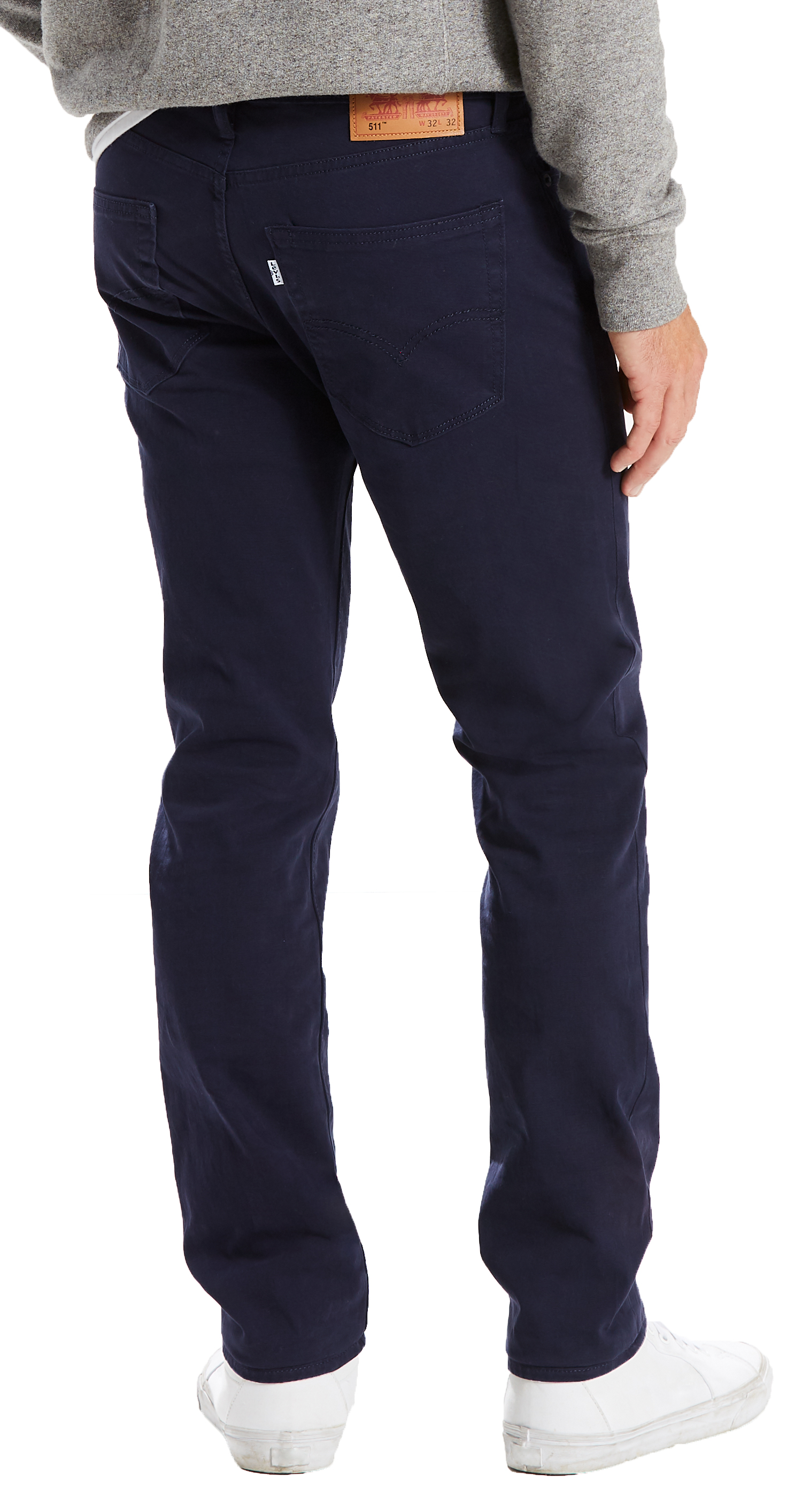 7fde4886e3fc Click on the Image to Enlarge. More Details. Levi s 511 Slim men s Nightwatch  Blue soft fabric jeans.