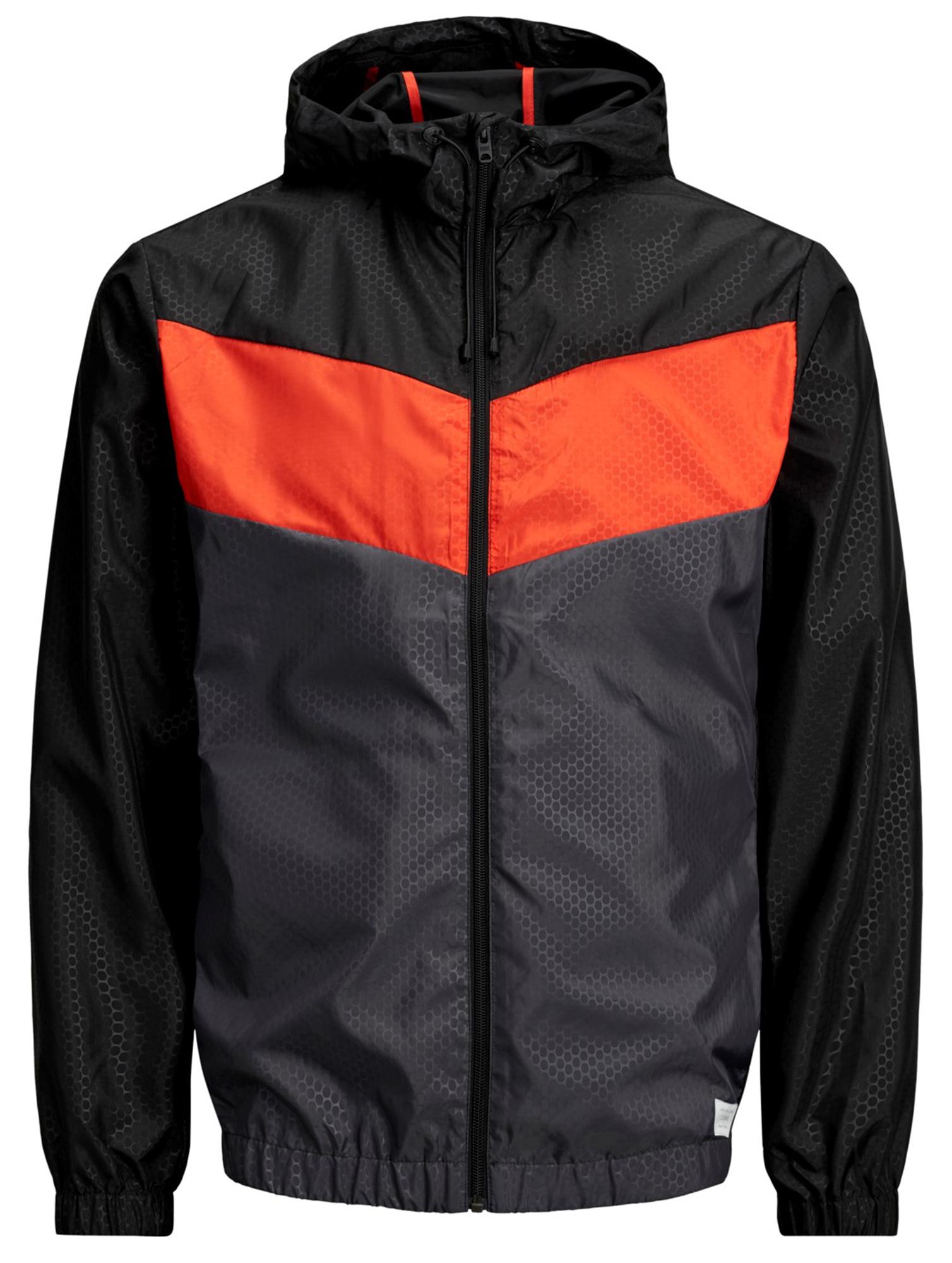 Jack /& Jones Men's Core Jaguar Lightweight Hooded Jacket Casual Polyester Coat