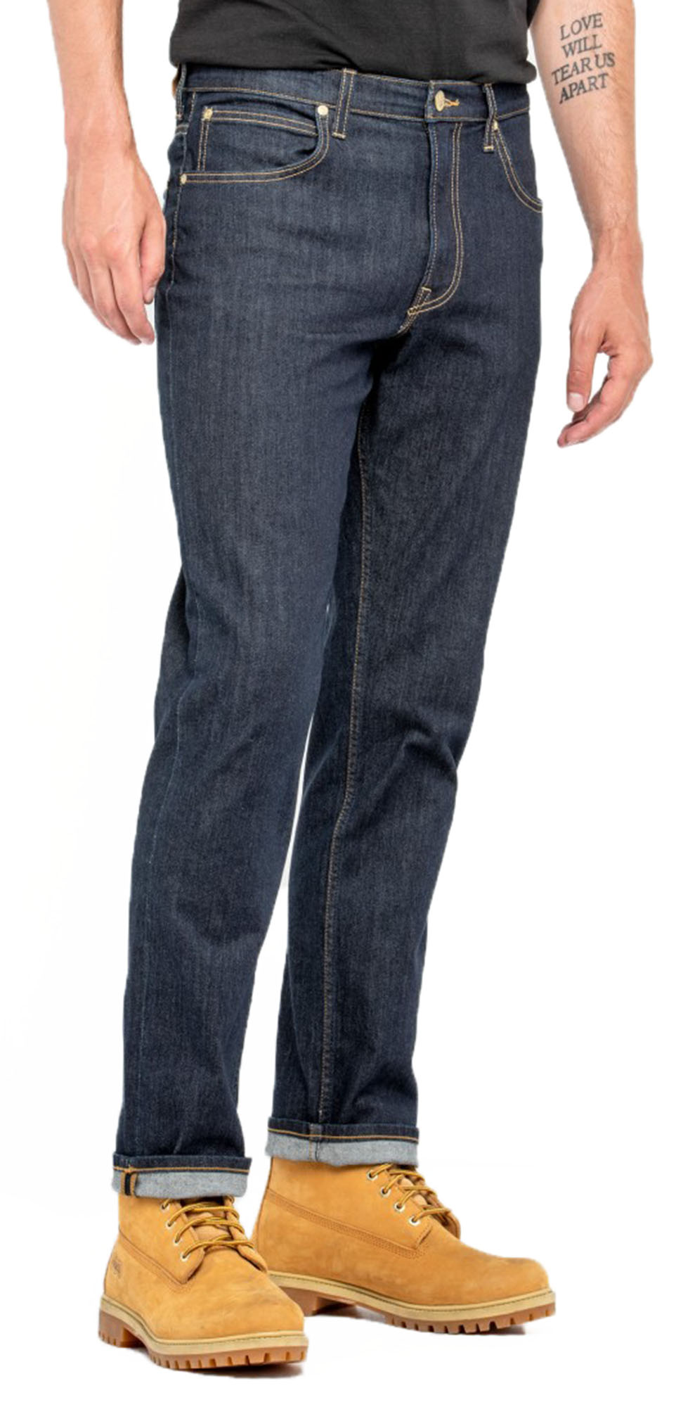2de76718 Click on the Image to Enlarge. More Details. Lee Brooklyn men's stretch  denim ...