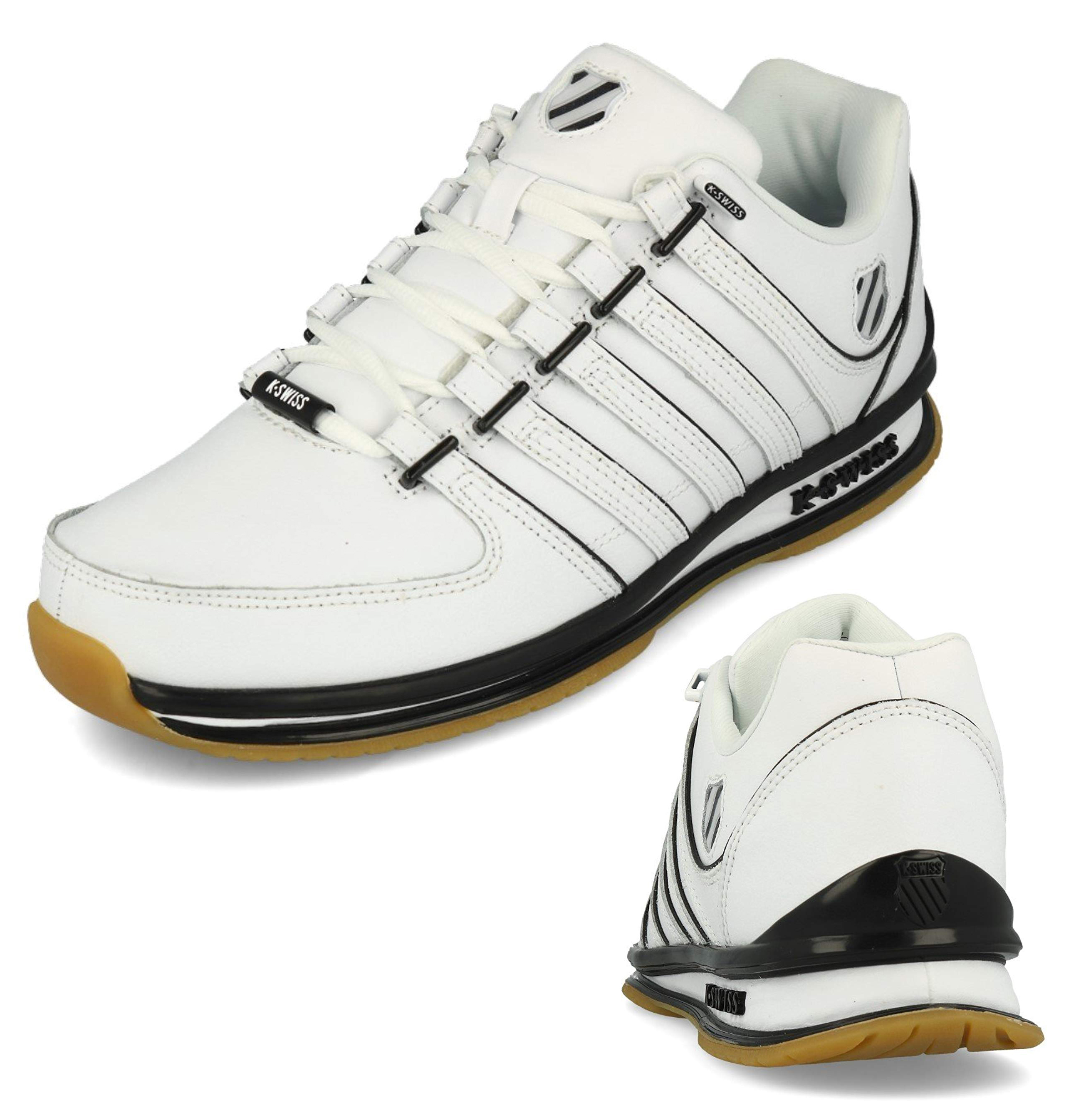 K-Swiss Rinzler SP Leather Trainers Mens Fashion Tennis Court Shoes ... 95824953e