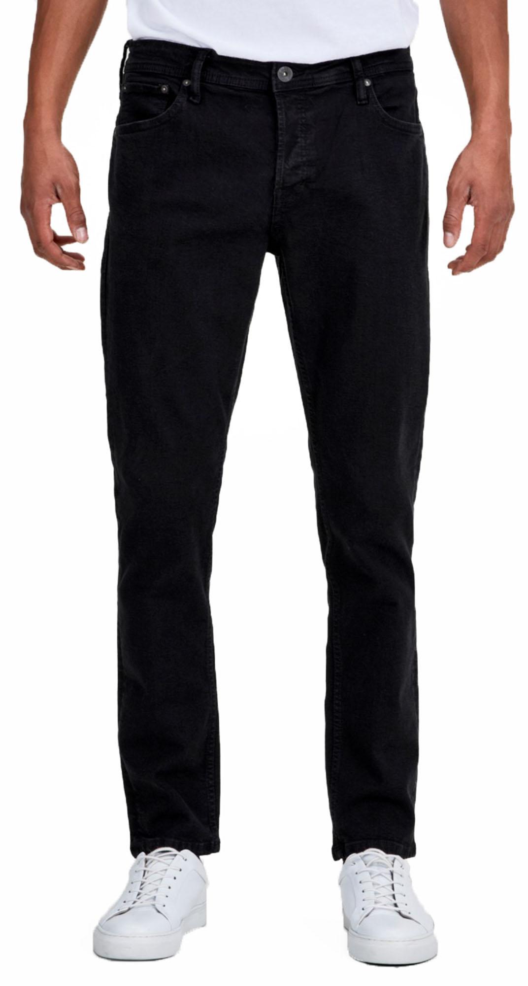 0d7afc59 JACK & JONES Jeans Mens Glenn Slim Fit Tapered Narrow Leg Denim ...