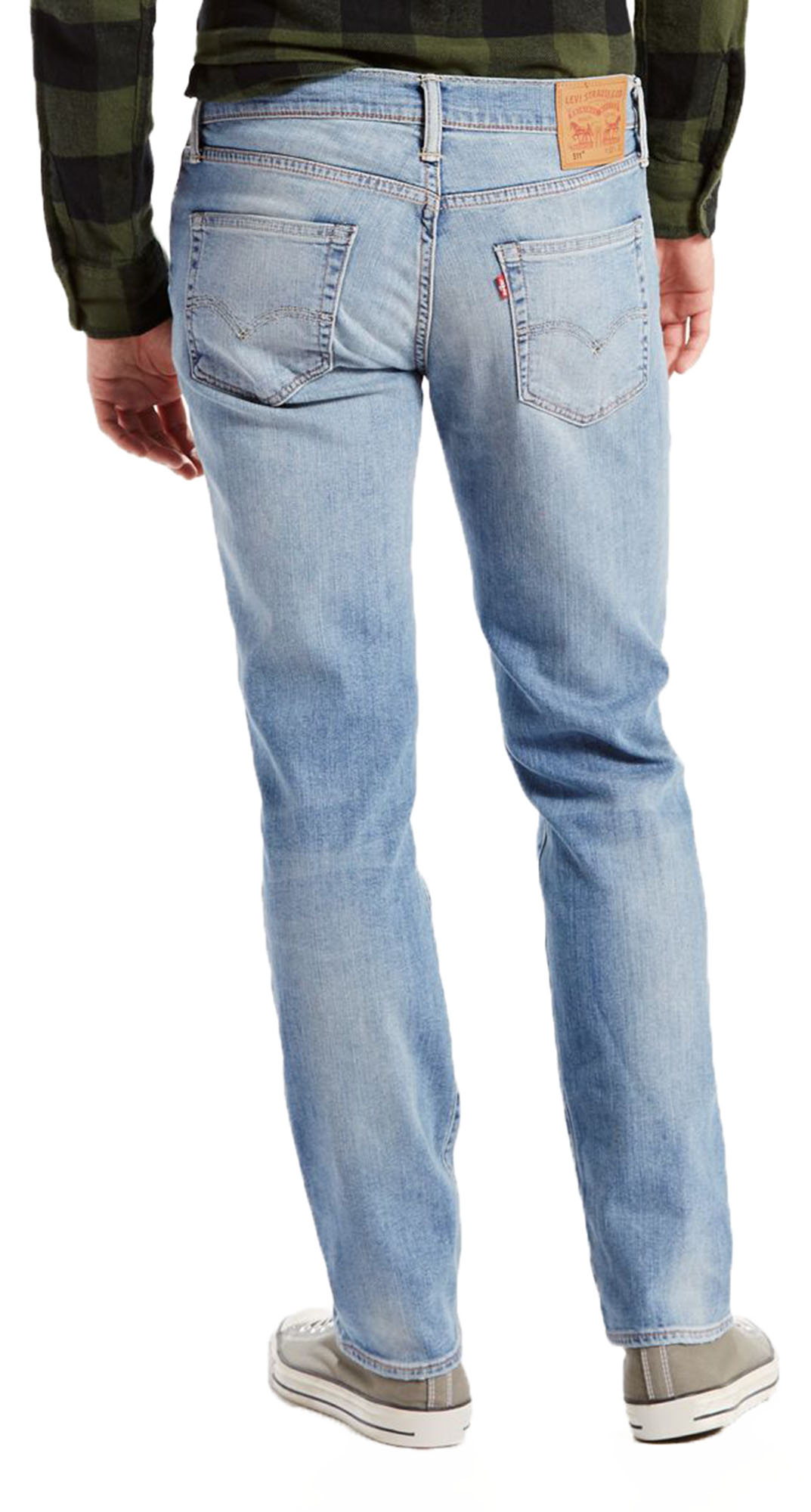 dc08d94954a Click on the Image to Enlarge. More Details. Levi's 511 Slim Fit men's Sun  Faded Stretch jeans.