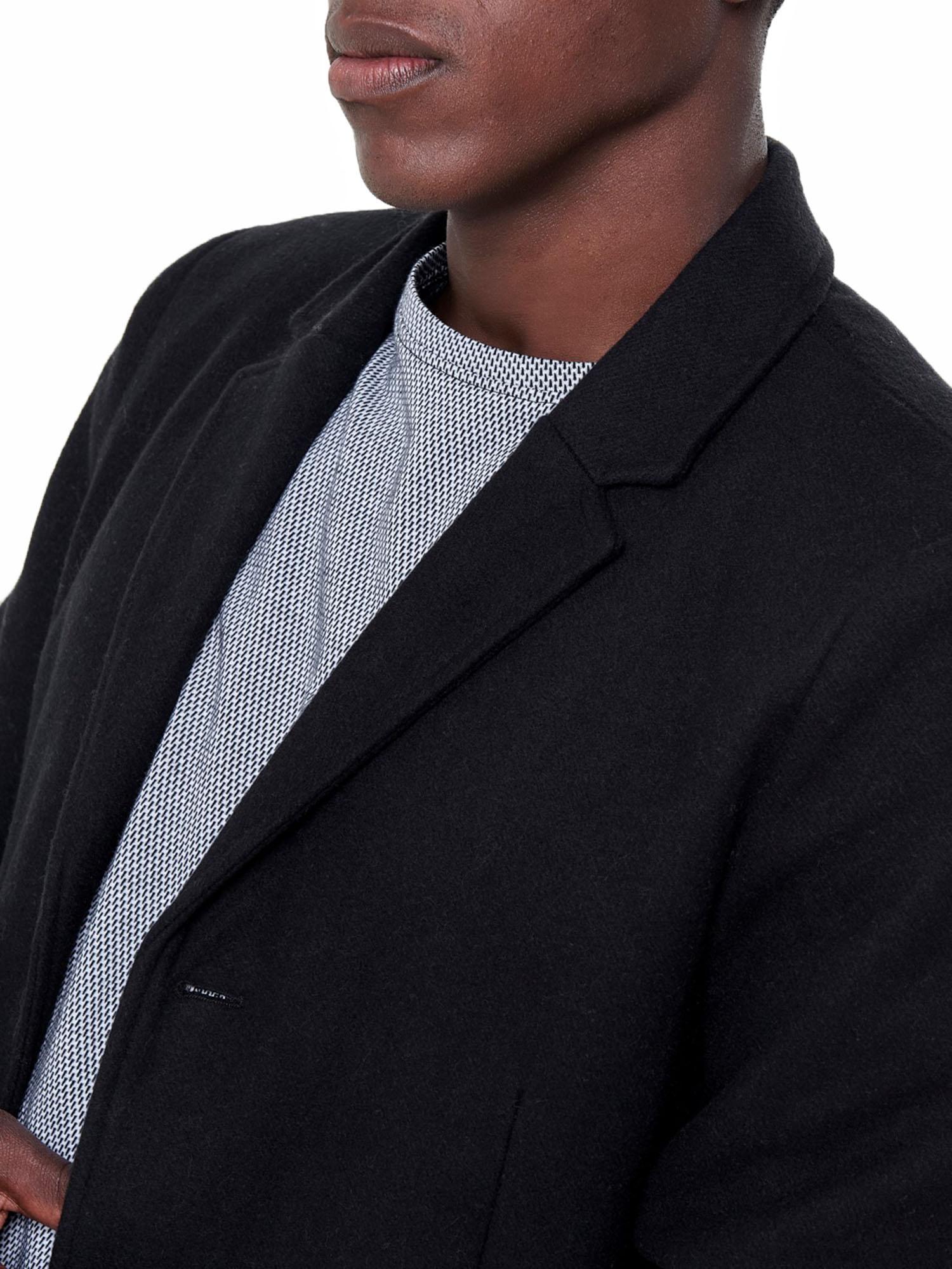 Threadbare Mayfair Mens Smart Over Coat Crombie Style Jacket Salt /& Pepper Grey
