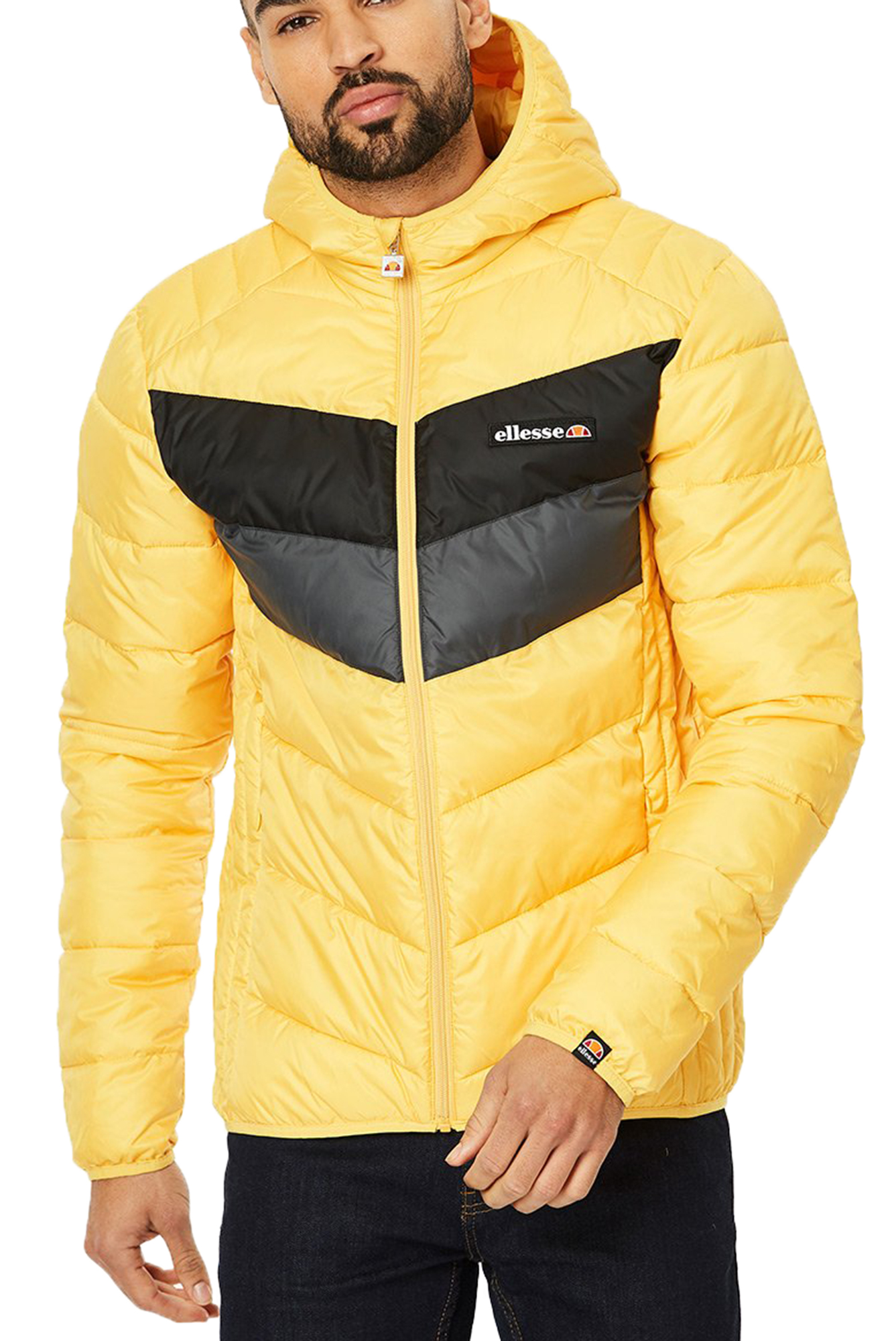 c6c45c2e0fc Click on the Image to Enlarge. More Details. The Ginap men's puffer jacket  by Ellesse is the ideal fashion winter parka ...