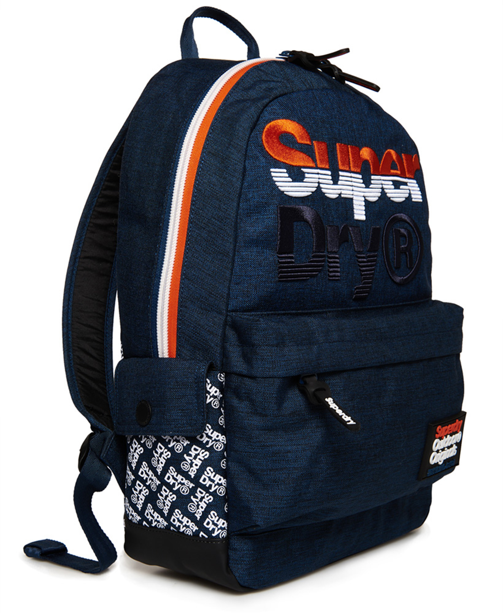 cd457b2a9ec Superdry Rucksack Navy Marl Blue Jackel Montana Backpack School ...