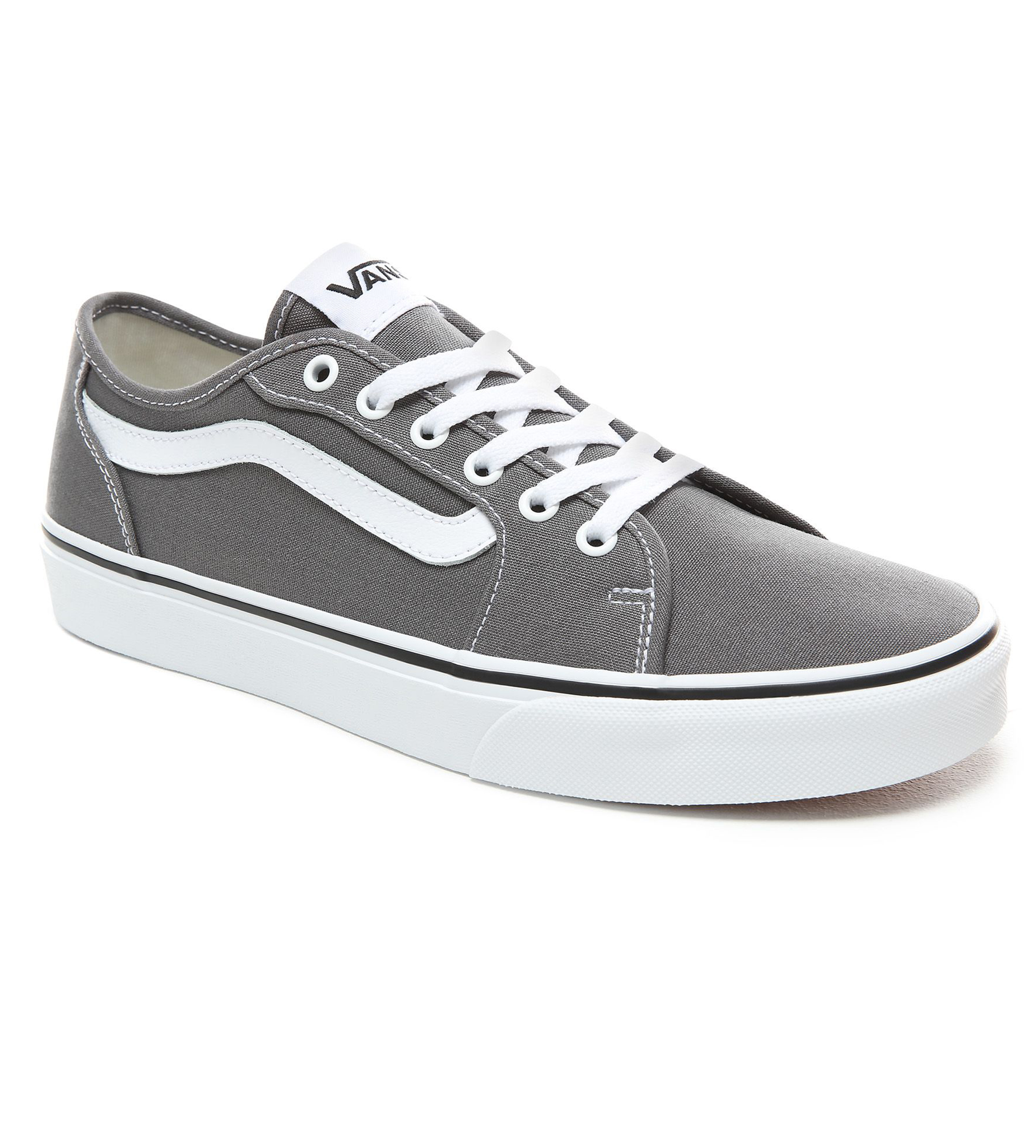770eacdc6aba2b Click on the Image to Enlarge. More Details. These stylish VANS Filmore  Decon Low Canvas Stripe Trainers ...