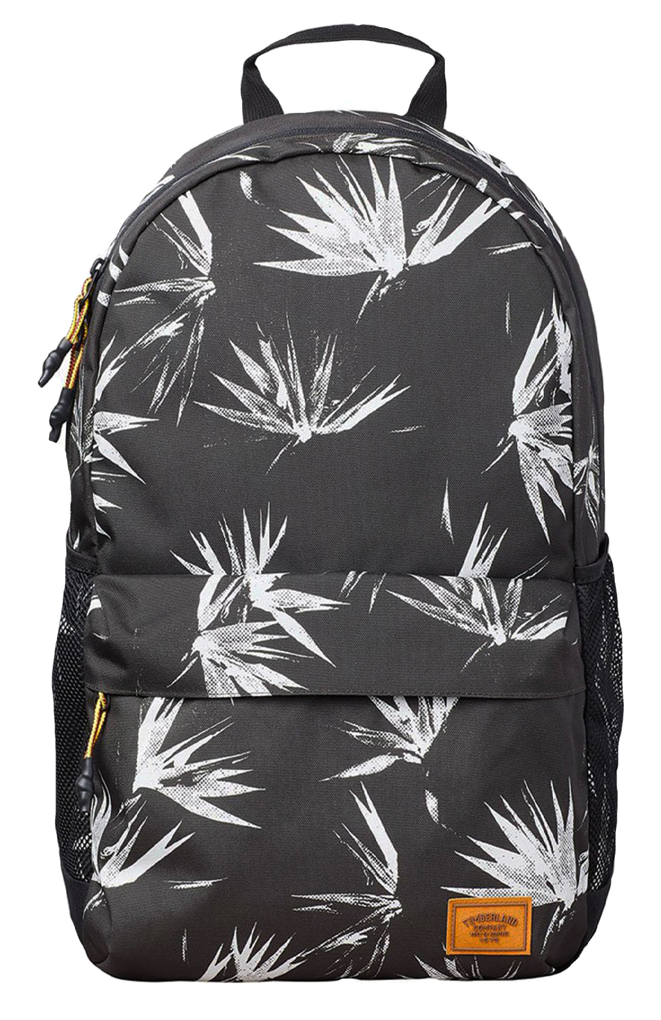 3357a377dcd Timberland Rucksack Black Print Backpack School Casual Work Bag ...