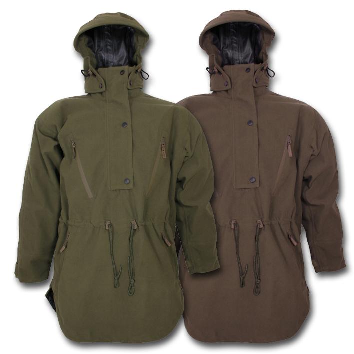Jack Pyke Argyll Smock Waterproof Windproof Silent Hunting Headover Hood Jacket