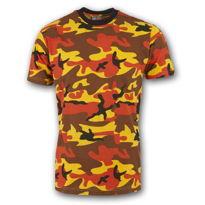 Military Camouflage Mens T-Shirt Bw Army Top Tropical Camo Pattern Tee S-3XL