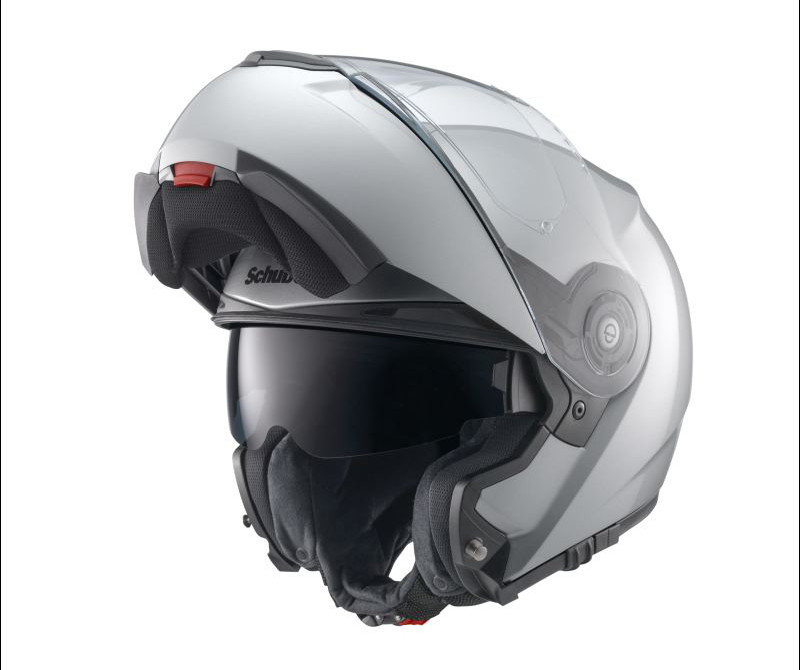 new schuberth c3 pro silver helmet ebay. Black Bedroom Furniture Sets. Home Design Ideas