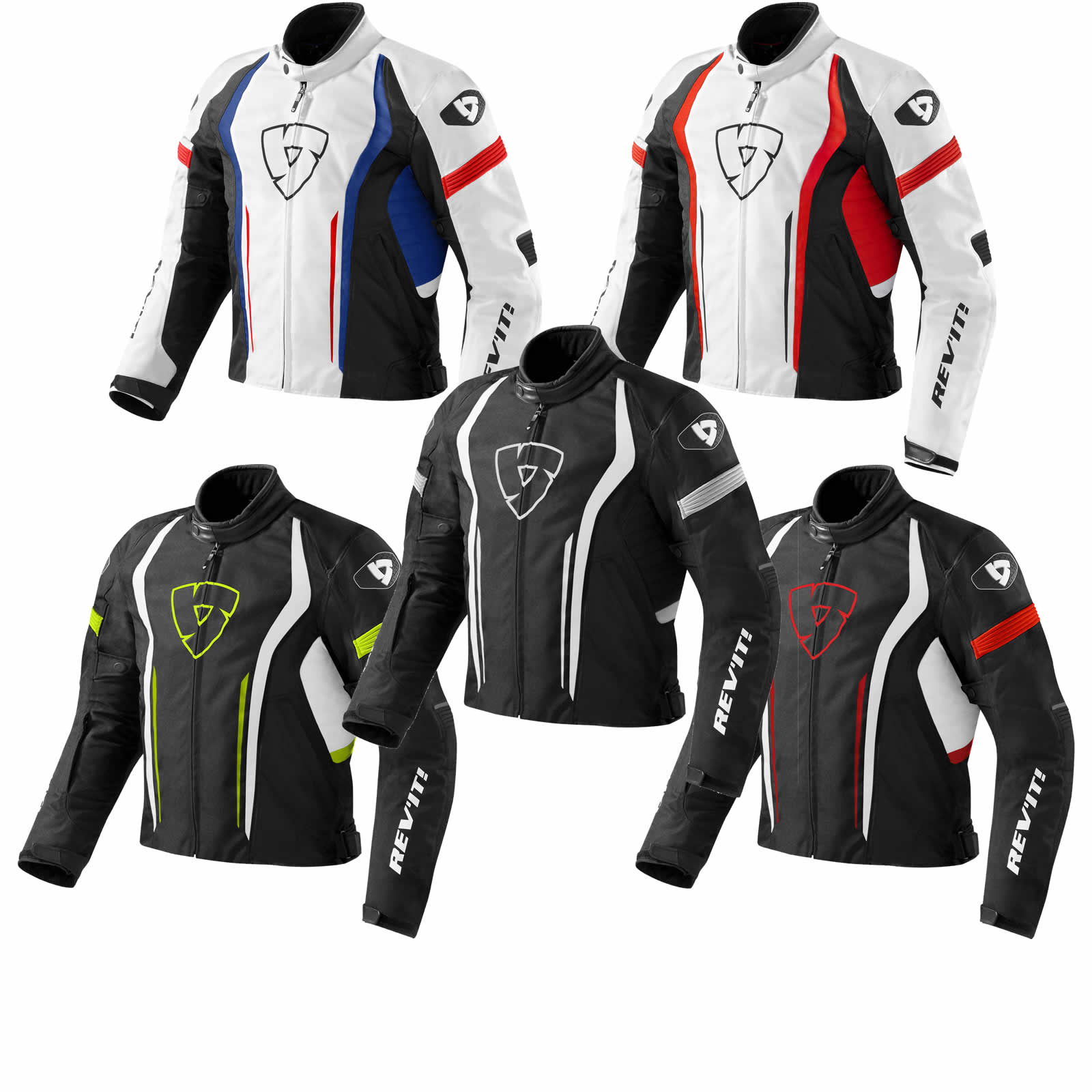 ed9b4edd0c96 Details about REV IT REVIT Raceway Motorcycle Jacket Free Eu Delivery