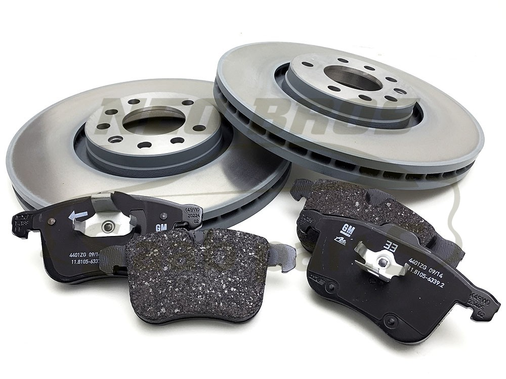 FRONT Brake Discs and Pads SAAB 93 OPEL VAUXHALL SIGNUM VECTRA C 314mm