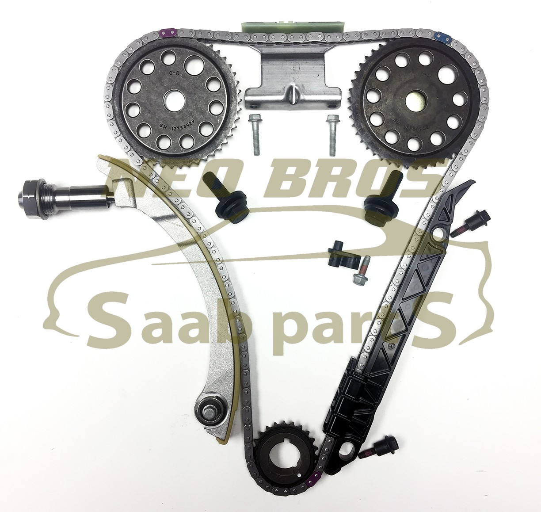 Genuine Timing Chain Kit For Saab 9 3 B207 Vauxhall Opel Z20net Belt On 2003 Item Specifics