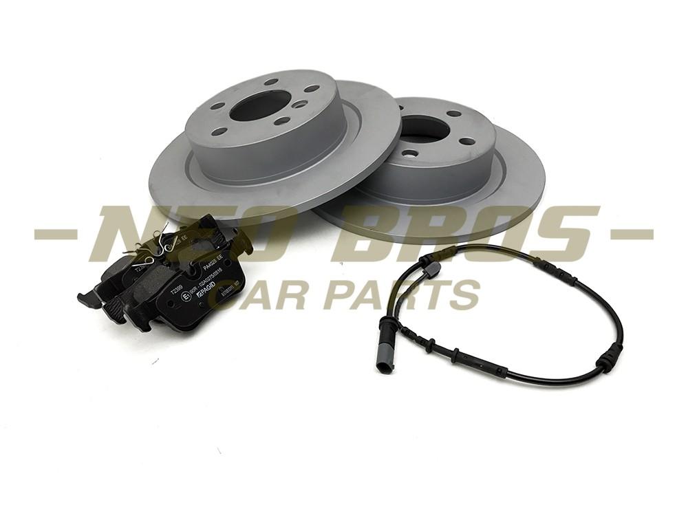 SD /& SE Pagid Rear Brake Kit inc Discs Pads /& Sensors for Mini F60 Cooper S