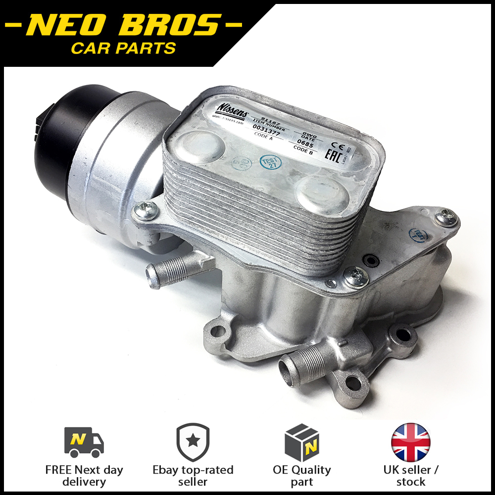 Engine Oil Cooler For Psa Peugeot Citroen C4 C5 Ds3 Ds4 Ds5 1 6 Thp Ep6 Ebay