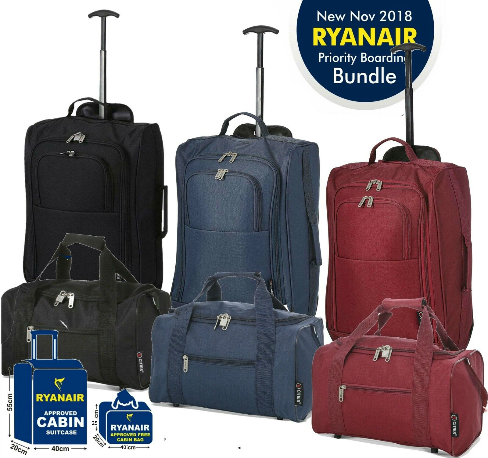 ryanair airlines cabin baggage
