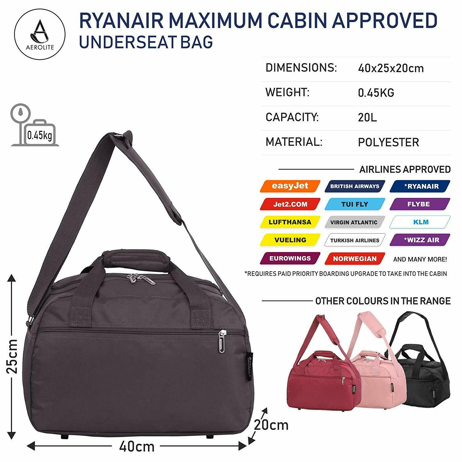 Bagage Handbagage, reistassen Ryan air Small Second Hand