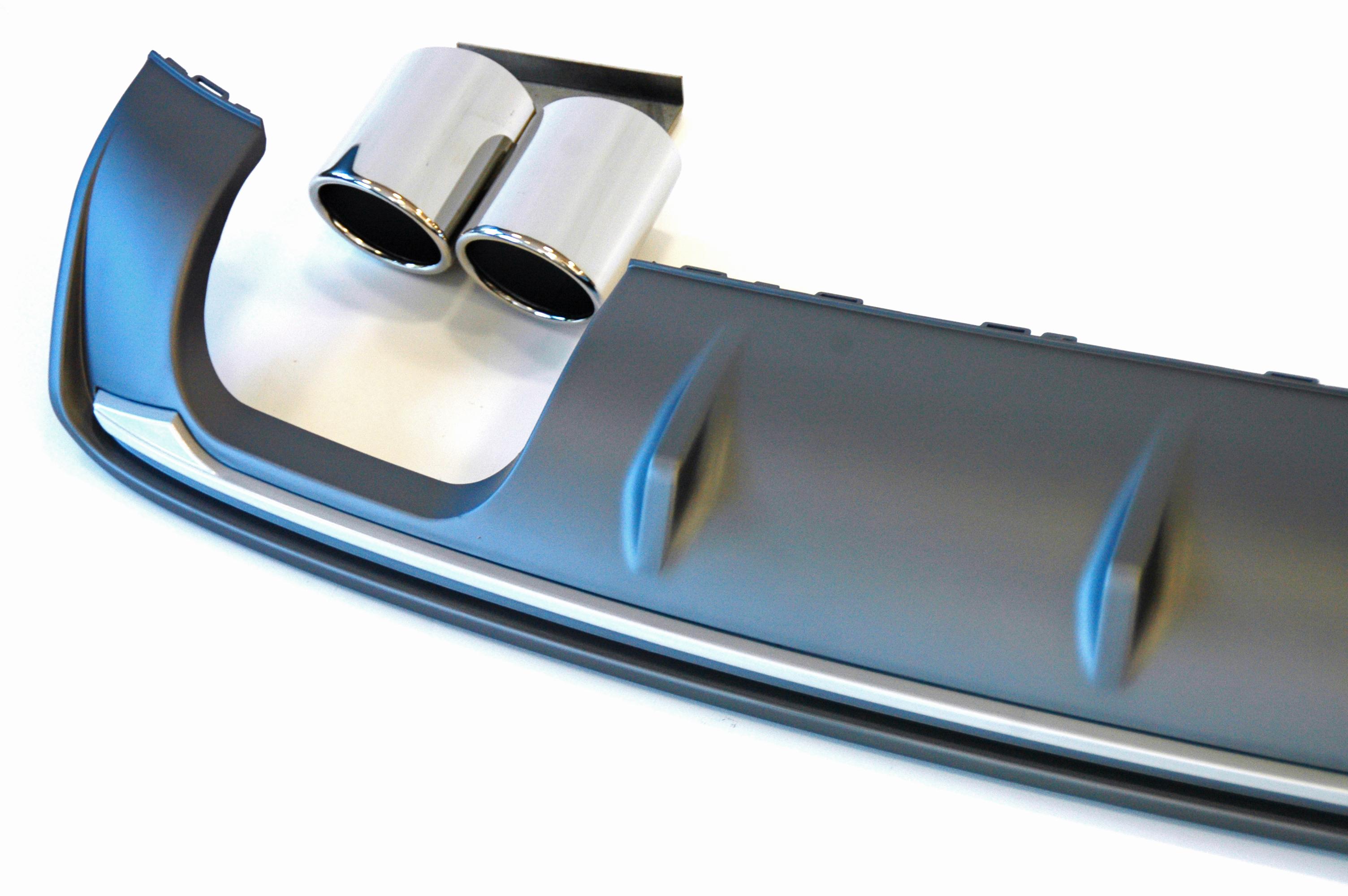 Sport S Line Optik DIffusor Heckansatz fur A6 Limo