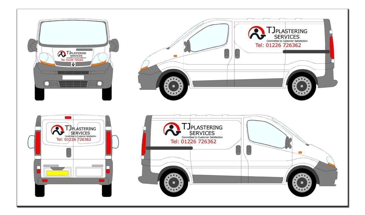 Vehicle graphics sign writing van signing diy lettering for Vehicle lettering design online