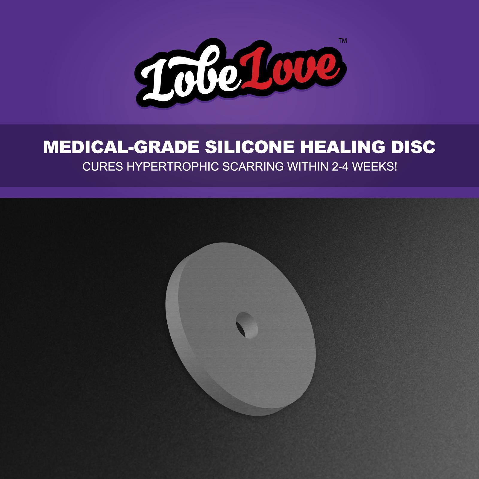 Lobelove Healing Piercing Discs No Pull On Your Jewellery