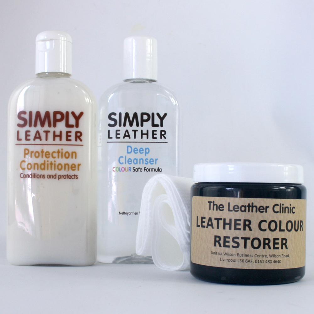 Leather Renovation Repair Kit Inc Colour Restorer