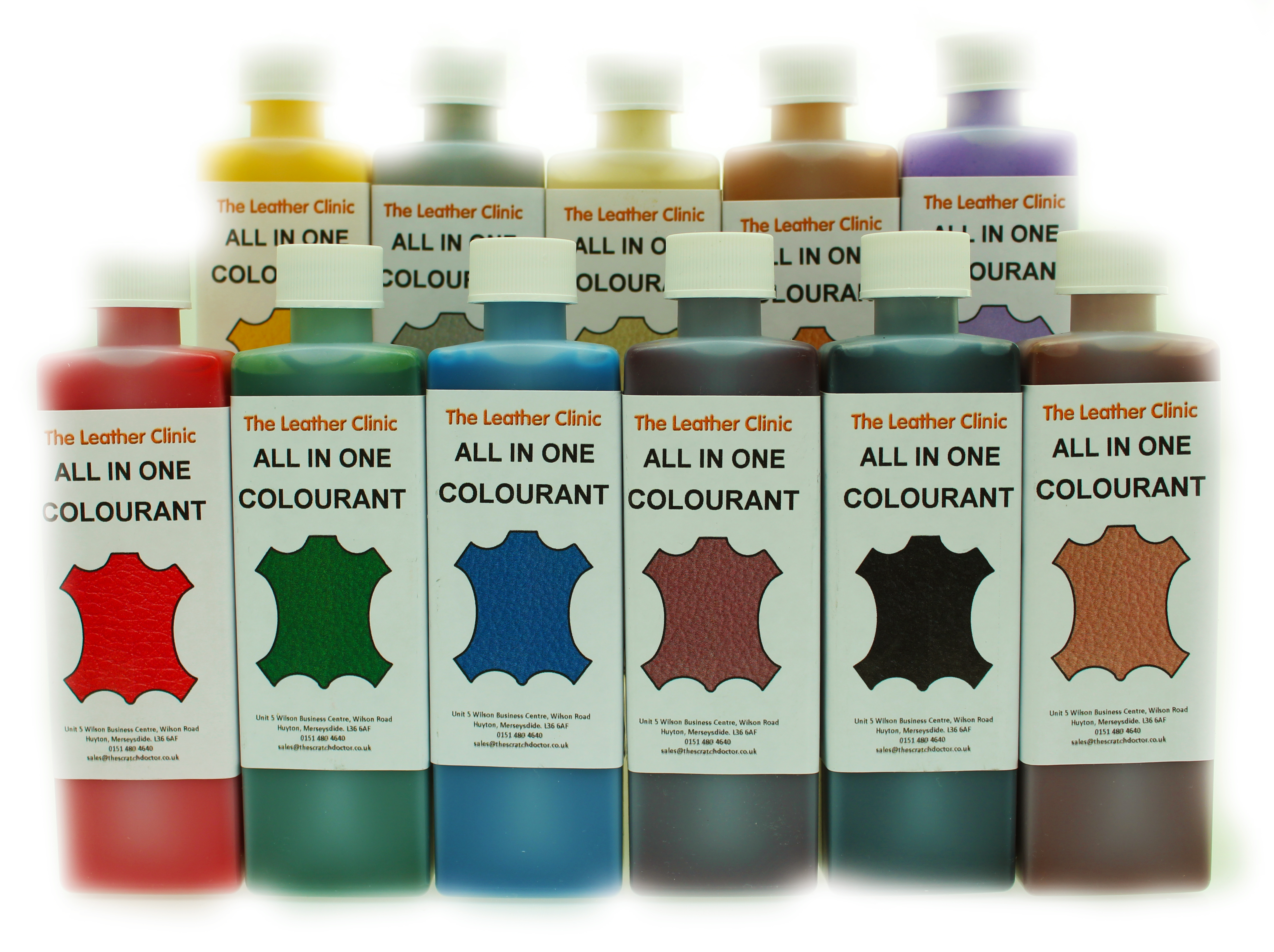 Leather All In One Dye Paint Repair Kit For Worn Amp Scratch