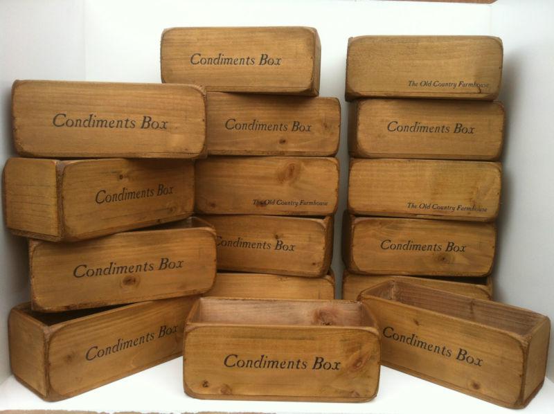 newquay condiment cutlery holders boxes baskets vintage. Black Bedroom Furniture Sets. Home Design Ideas
