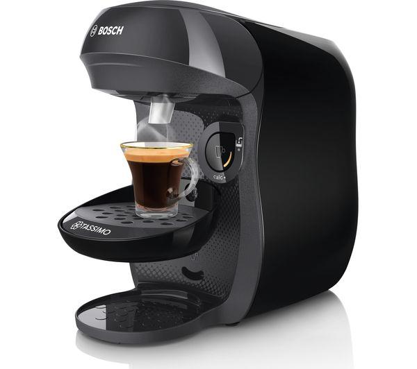 BOSCH Tassimo MACCHINETTA DEL CAFFE /'Happy TAS1002GB-Nero