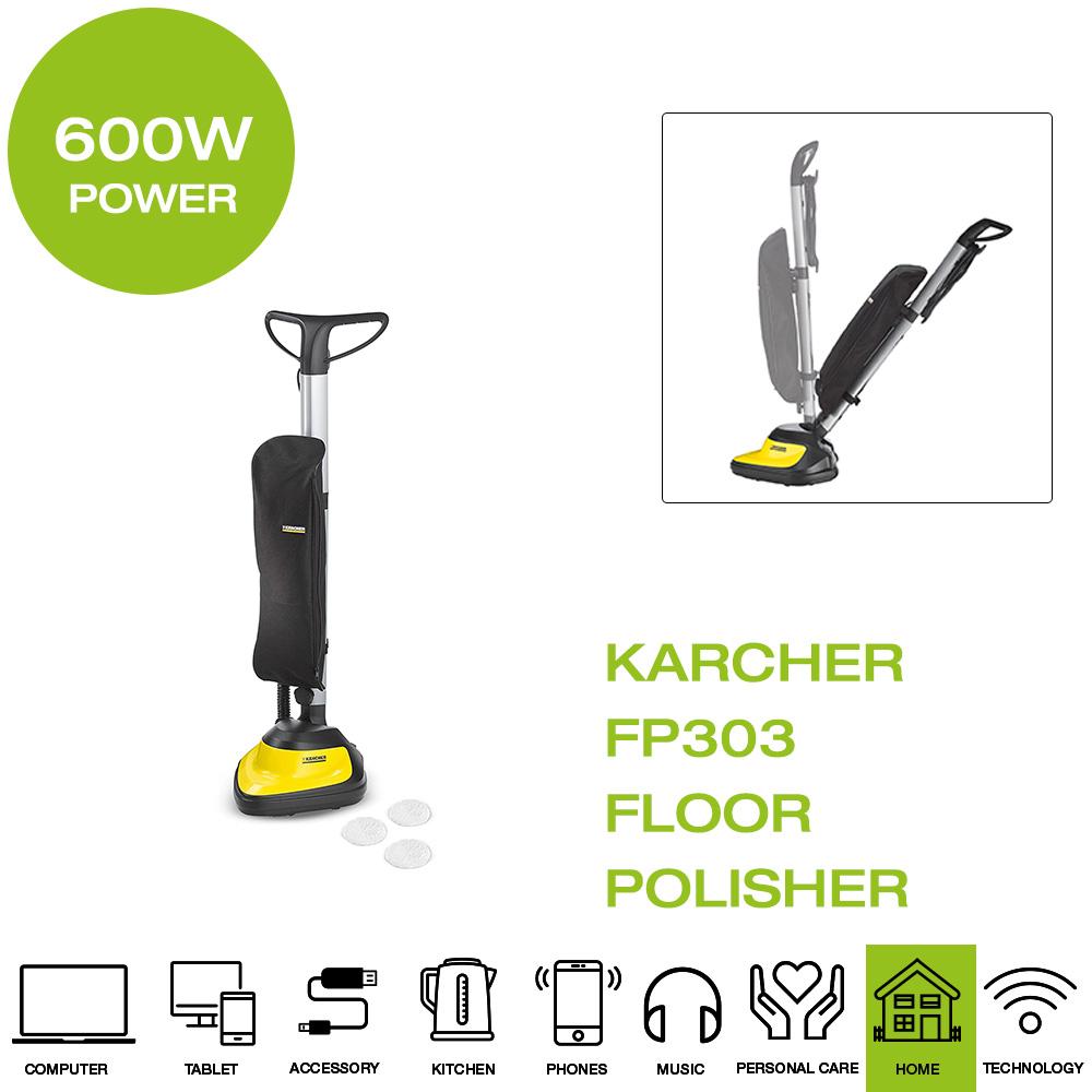 *Brand New* Karcher FP303 Floor Polisher, 600W, 4L
