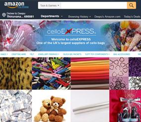 Amazon Mobile Portfolio